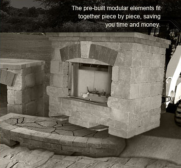 burning wood tulum outside price fireplaces fireplace smsender insert stone kits co patio outdoor